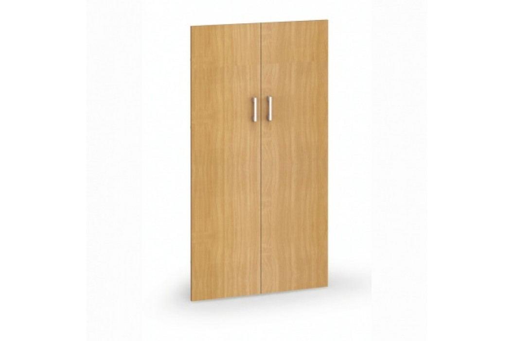 Dveře - pár, 793x18x1470 mm, šedá