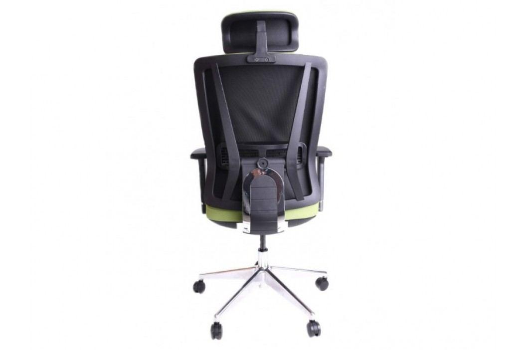 STRAKOŠ R-MAN Kancelářská otočná židle Rose zelená