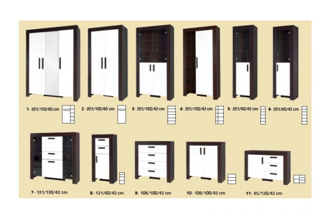 Obývací stěna STRAKOŠ C-01