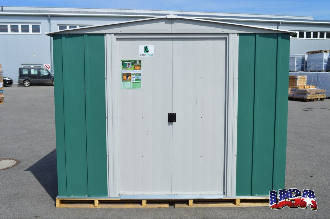 LANIT PLAST, s.r.o. zahradní domek ARROW DRESDEN 65 zelený