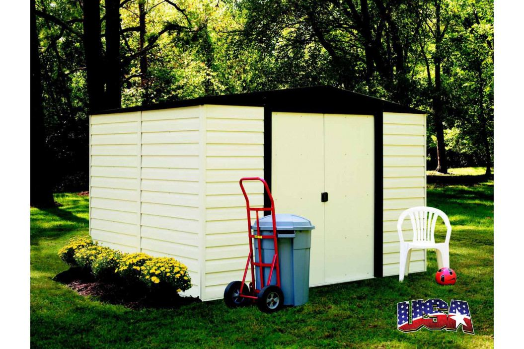LANIT PLAST, s.r.o. zahradní domek ARROW VINYL DALLAS 1012