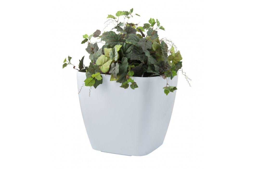 G21 Samozavlažovací květináč G21 Cube maxi bílý 45 cm obrázek inspirace