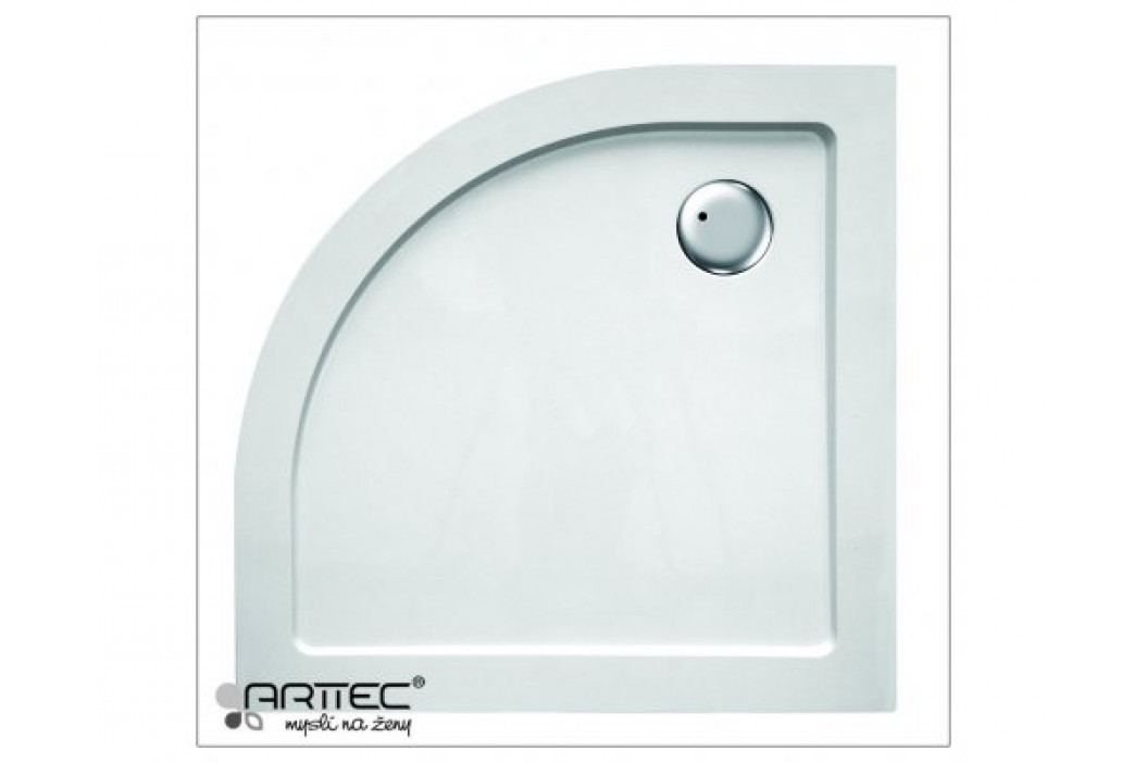 Arttec APRIL 9090R - sprchová vanička čtvrtkruhová