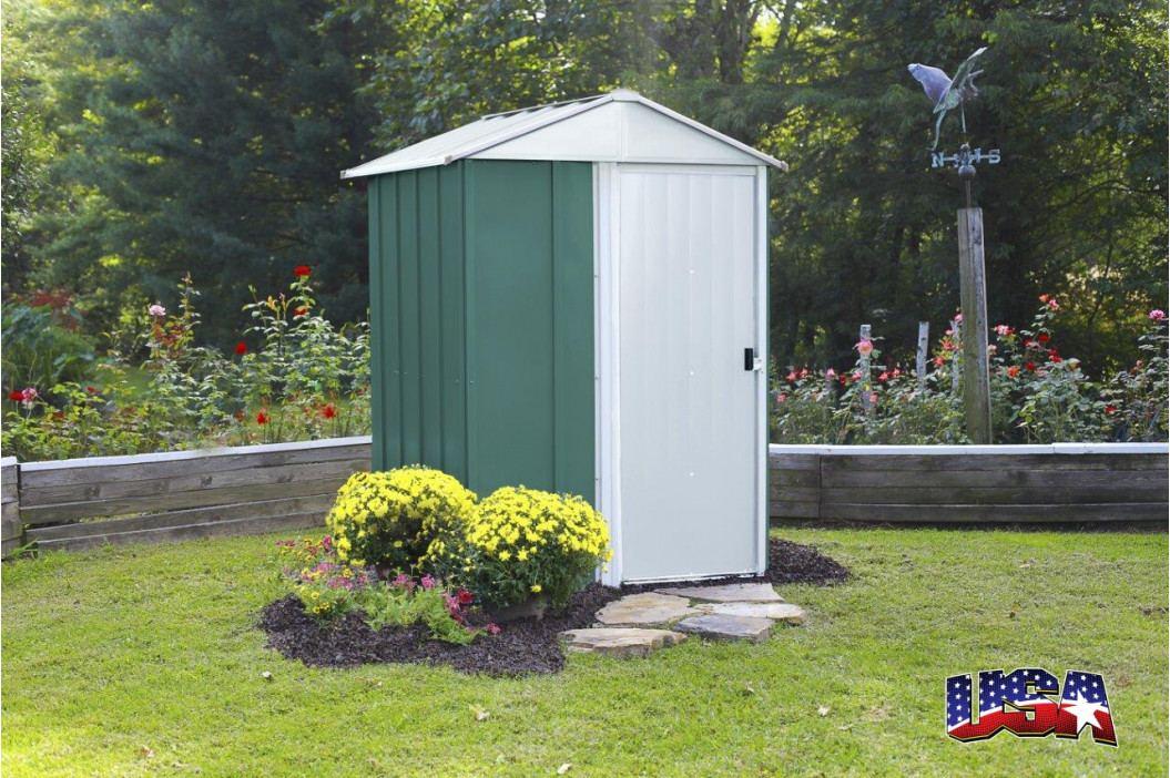 LANIT PLAST, s.r.o. zahradní domek ARROW DRESDEN 54 zelený