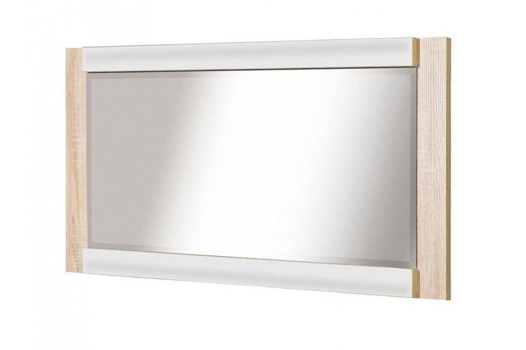 Casarredo Zrcadlo CARMELO C21 sonoma/bílá lesk
