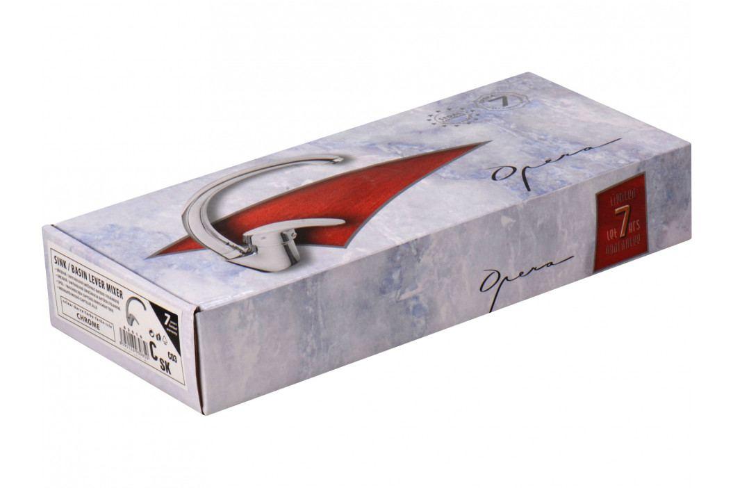 OPERA baterie umyvadlová stojánková, horní ramínko, chrom, 40mm, SEDAL