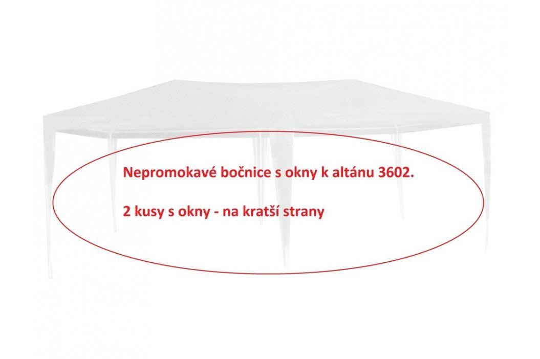 Rojaplast Bočnice k altánu 3602 - 2ks s okny - BÍLÉ