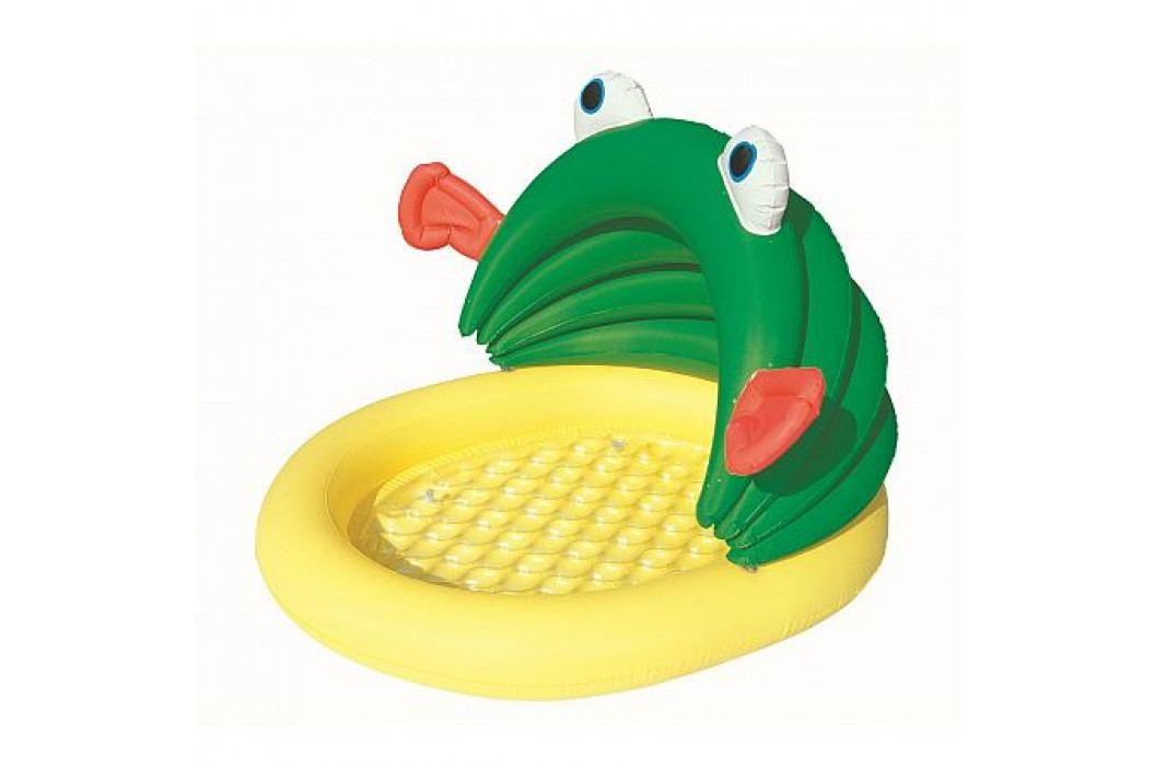 Bestway Dětský bazén žába se stříškou 107 x 104 x 71 cm samostatně