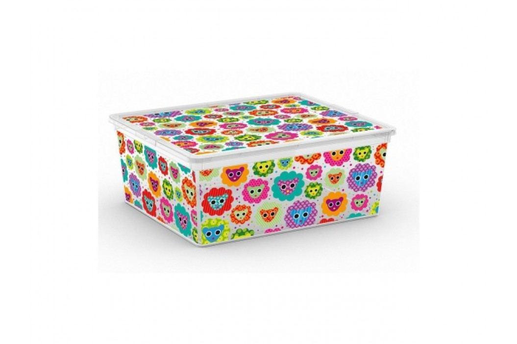 KIS Plastový úložný box C-Box Tender Zoo M, 18 L