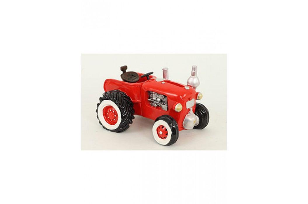 Kasička polyresin - traktor