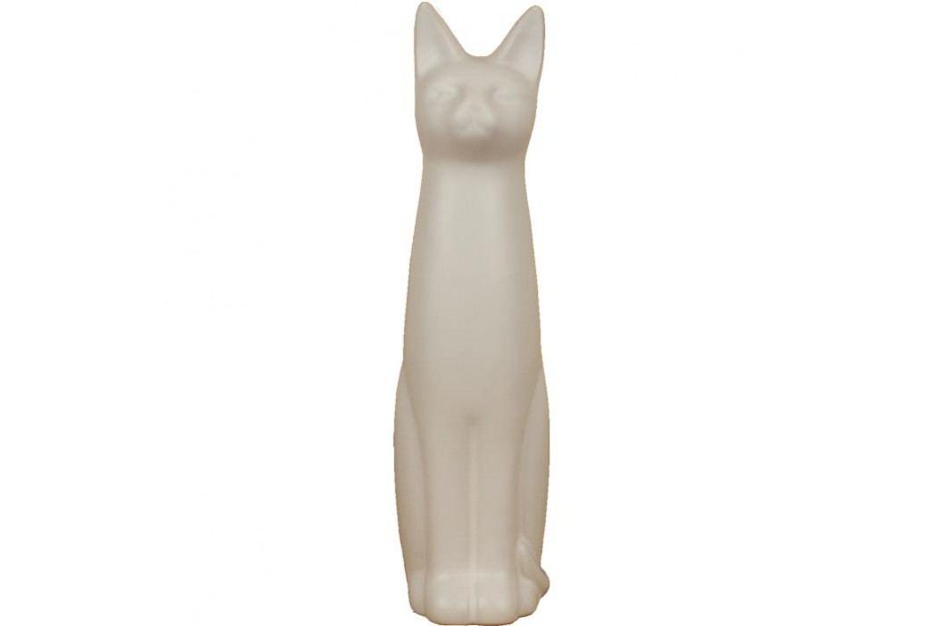 kočka porcelánová X0186