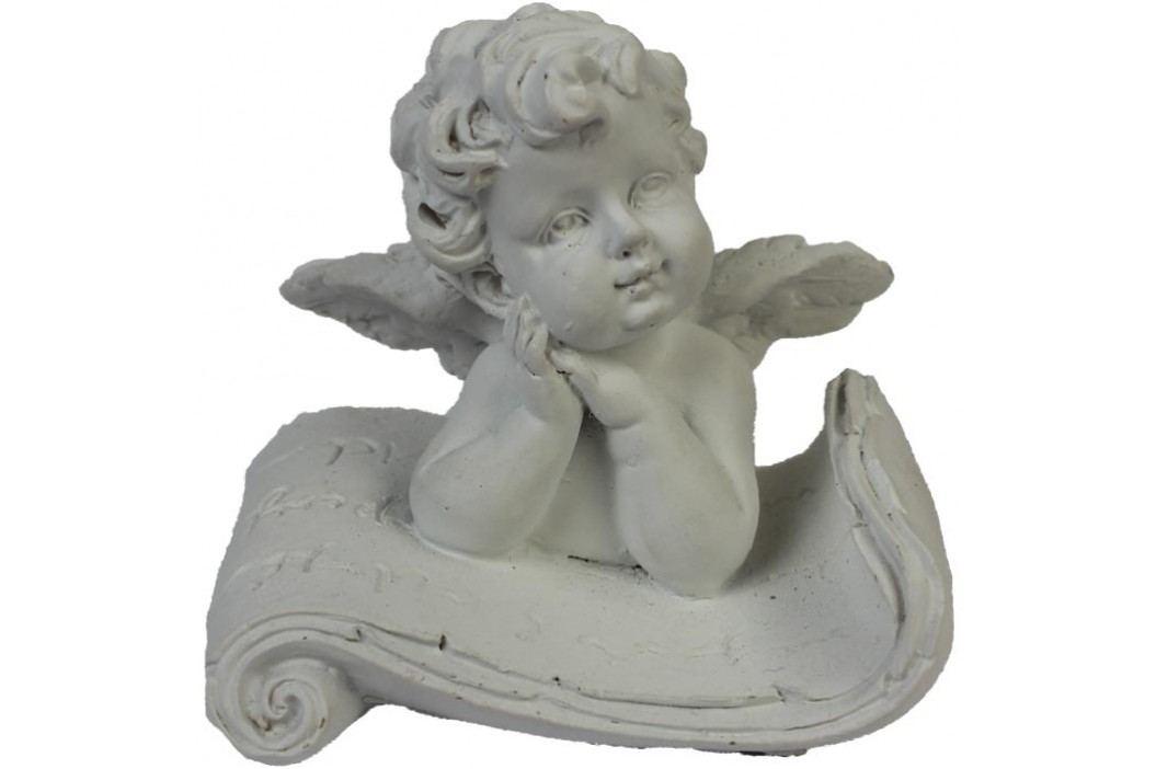 andílek na polštářku, X0128