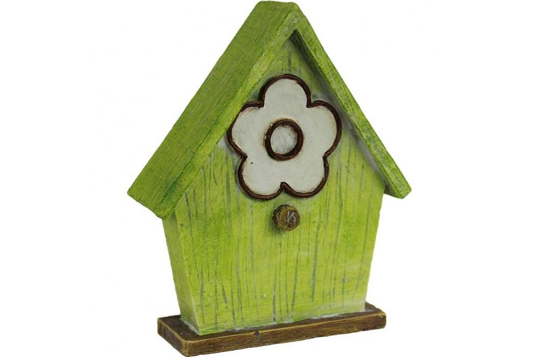 domeček dekor.zelený X0192