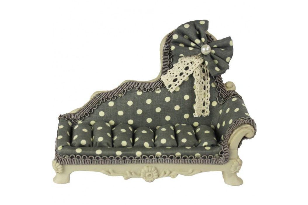 Sofa na šperky šedá X0217