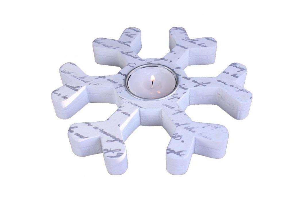 dekorační svícen vločka 381864