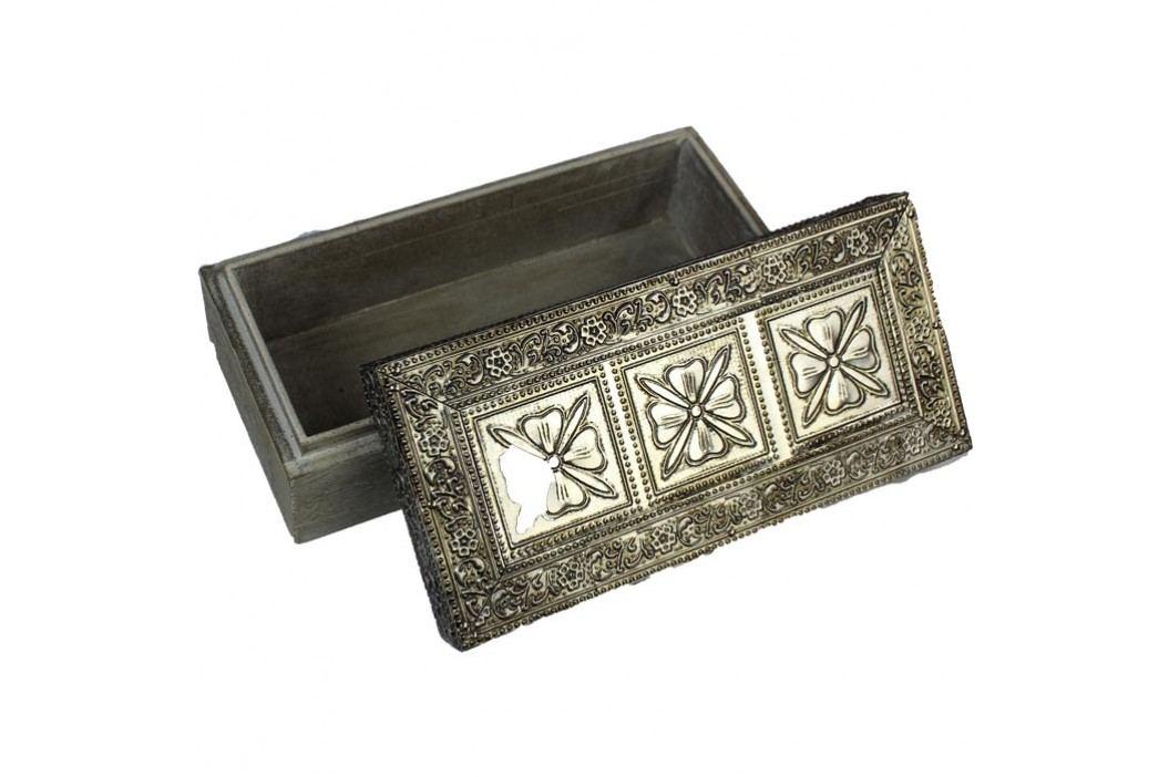 dřevěná krabička, D0070