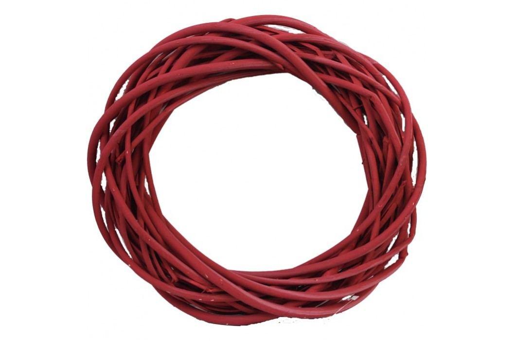 věnec červený 30 cm, P0003-08