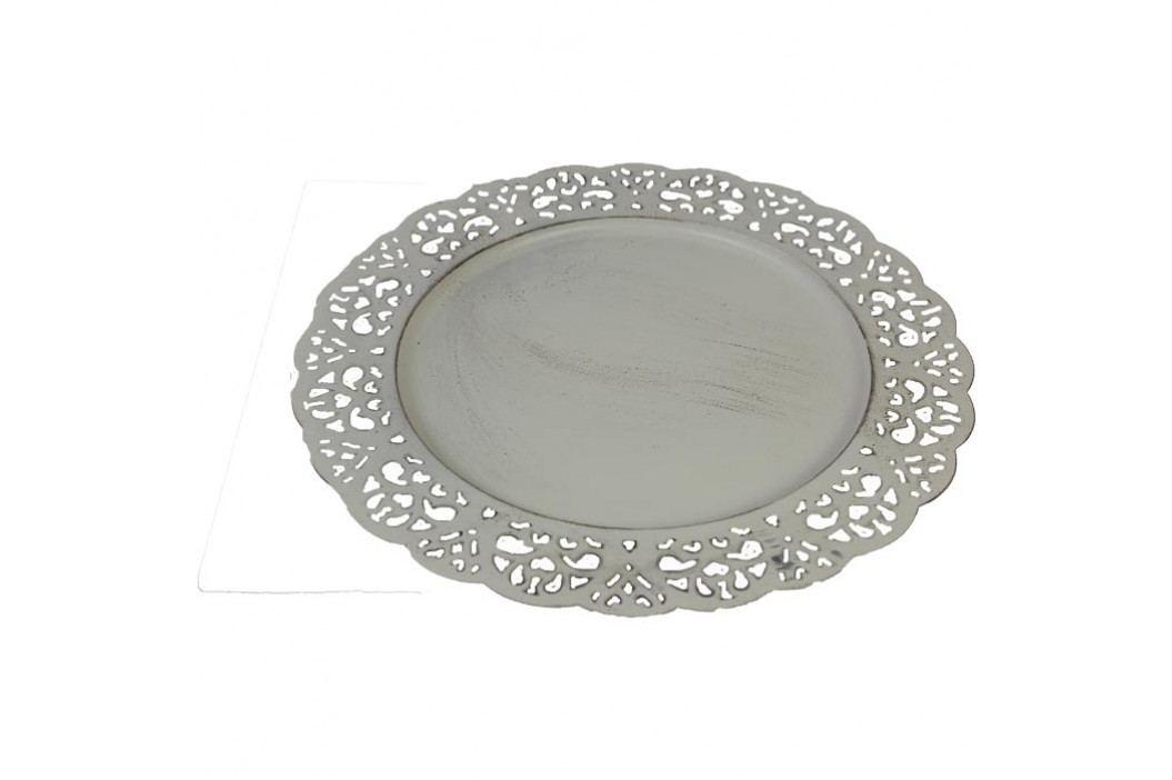 dekorační talíř kov, K0123
