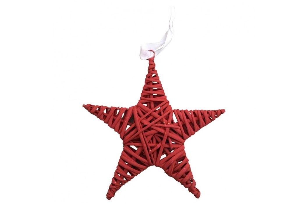 Hvězda 25cm červená, P0113-08