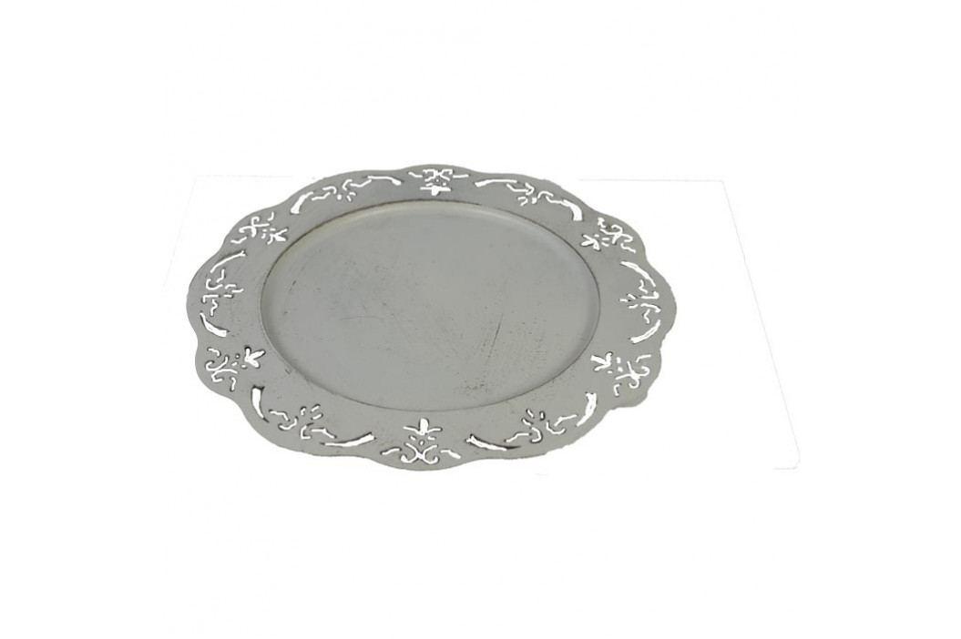 dekorační talíř kov, K0122