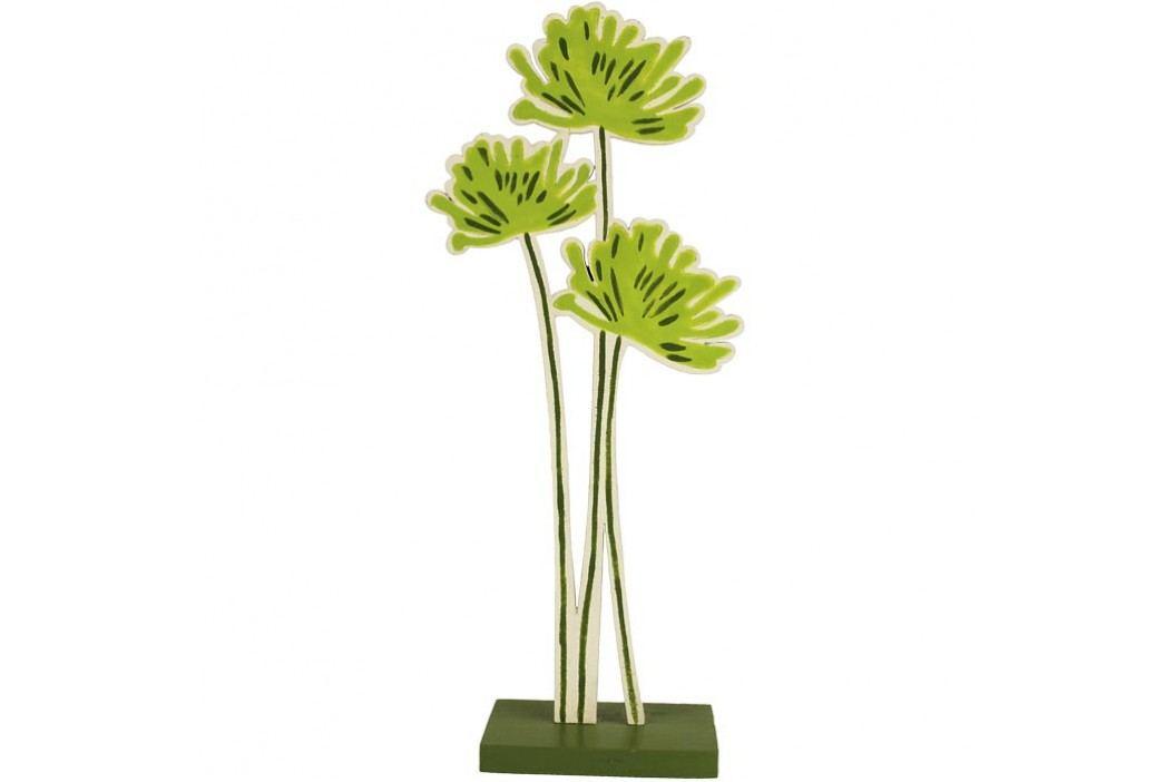 Dřevěná květina malá D0283/M