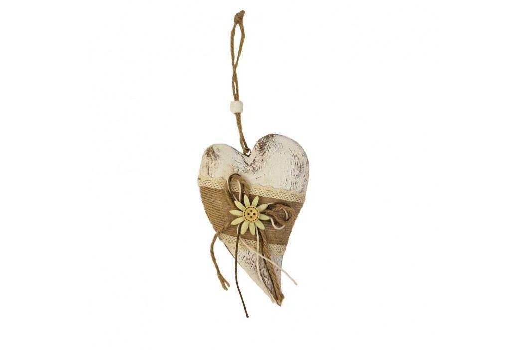 Dřevěné srdce menší D0248/M