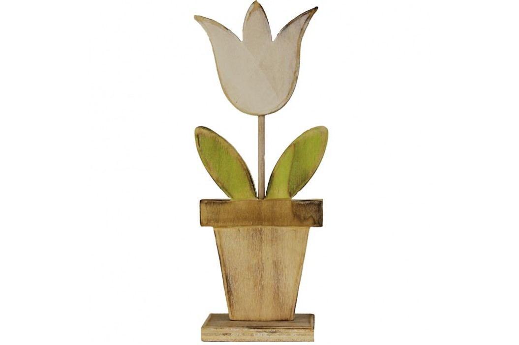 Dřevěný tulipán velký D0251/V