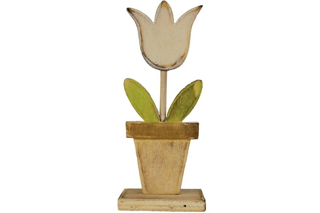 Dřevěný tulipán malý D0251/M