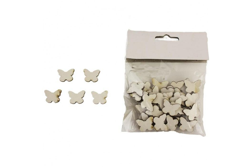 Dřevění motýlci, 48ks