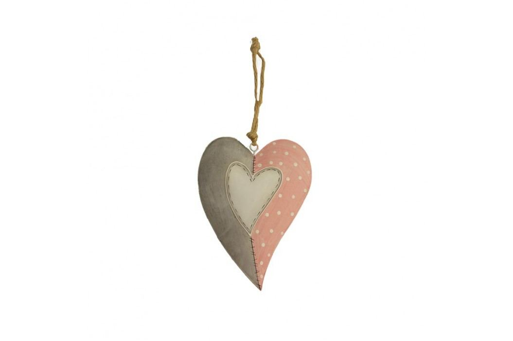 Srdce kovové K0457