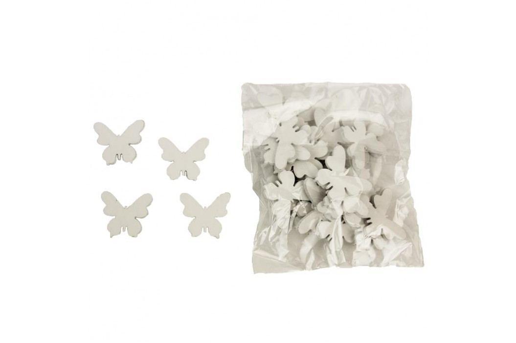 Dekorační motýlci, 30ks