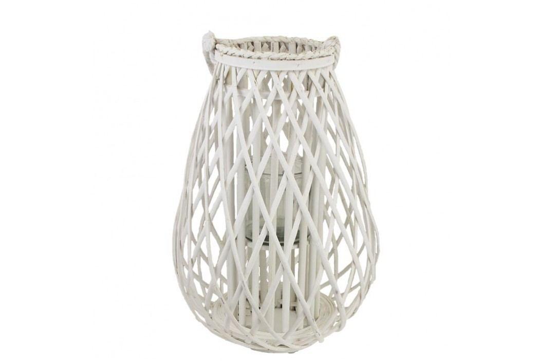 Dekorace na svíci bílá P0679