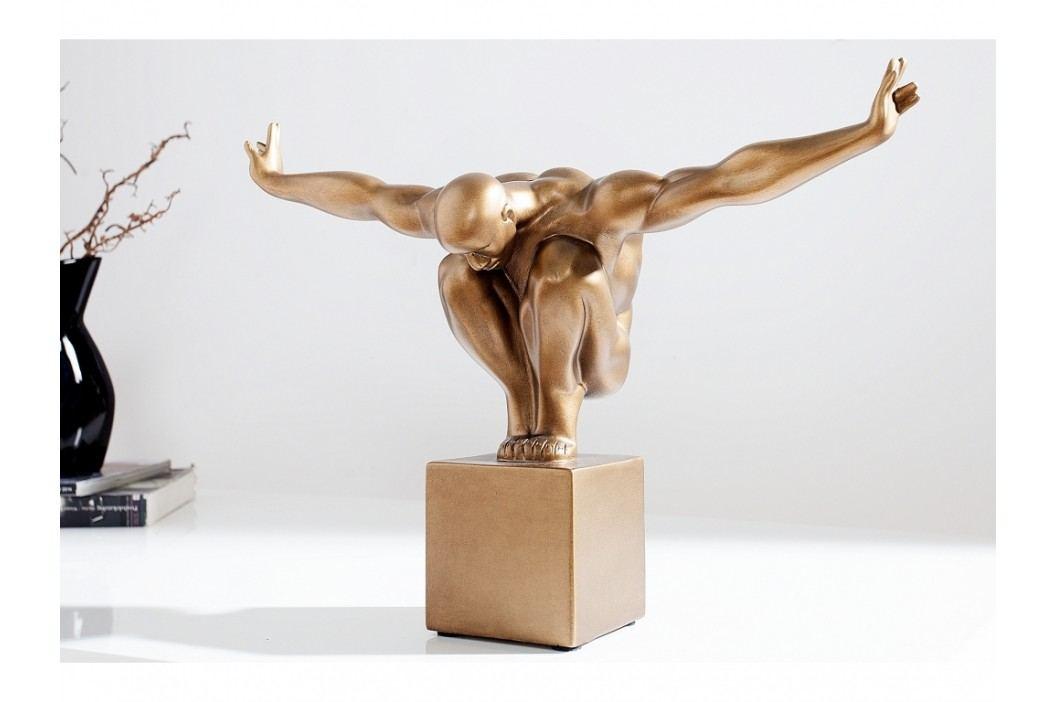 INV Dekorace OLYMPIER I 45cm měď