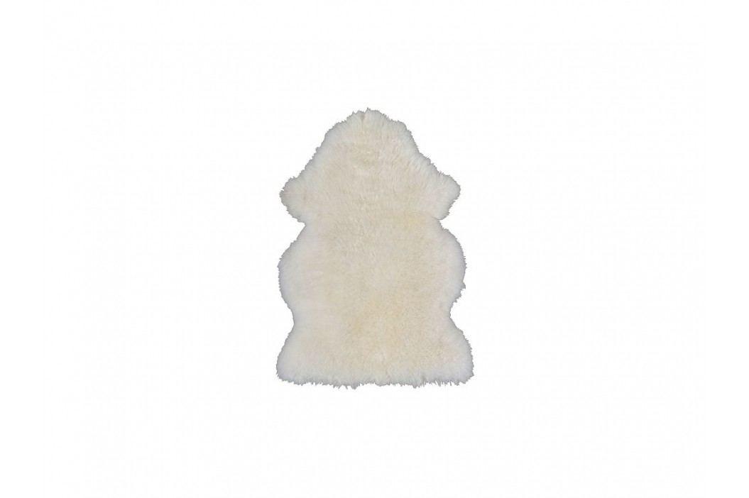 Ovčí kůže - vlna z novozélandské ovce různé barvy (Hnědá)