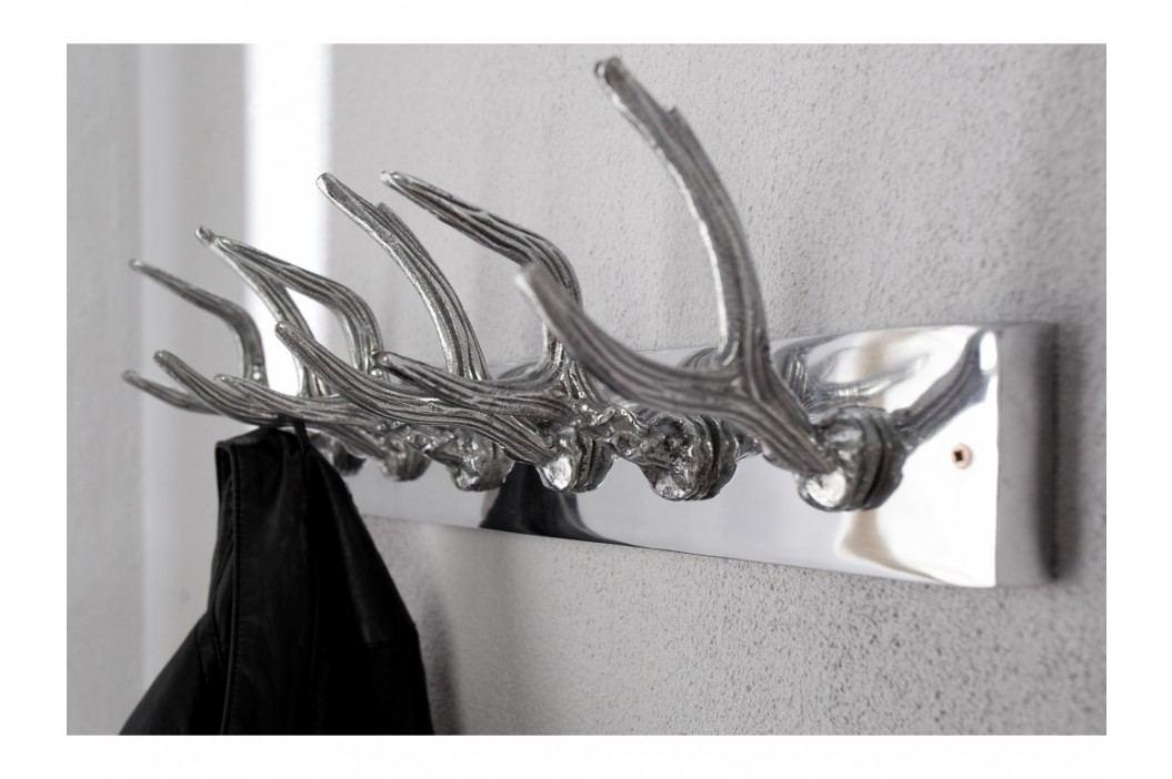 INV Věšák CAPRI 50cm stříbrný