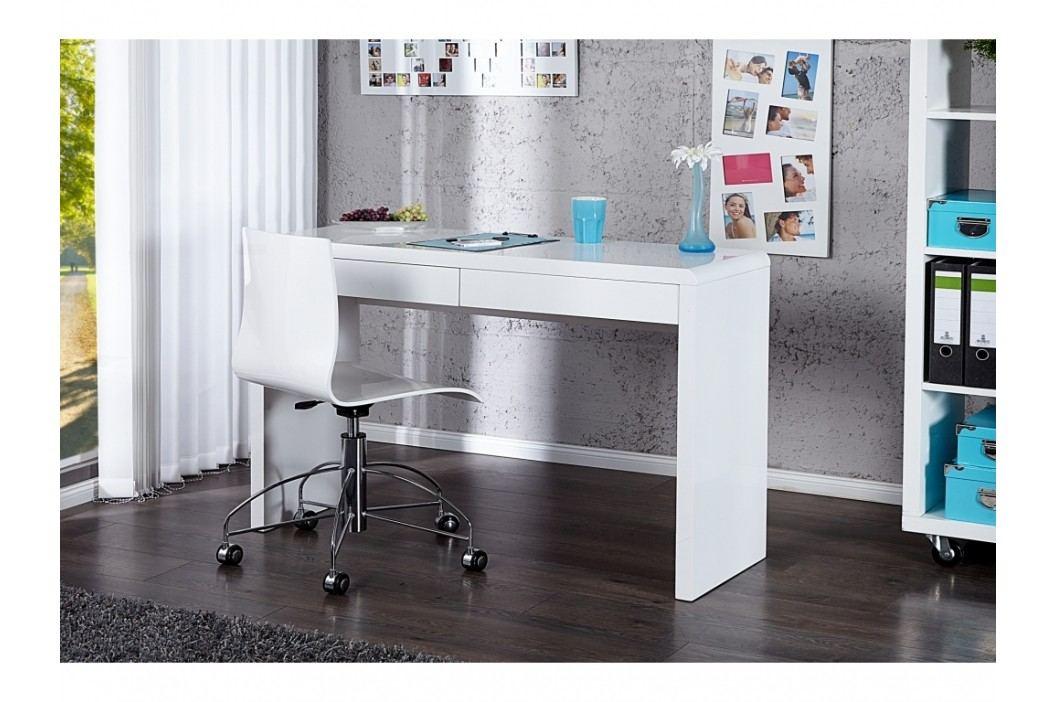 INV Psací stůl AMY 120cm bílý
