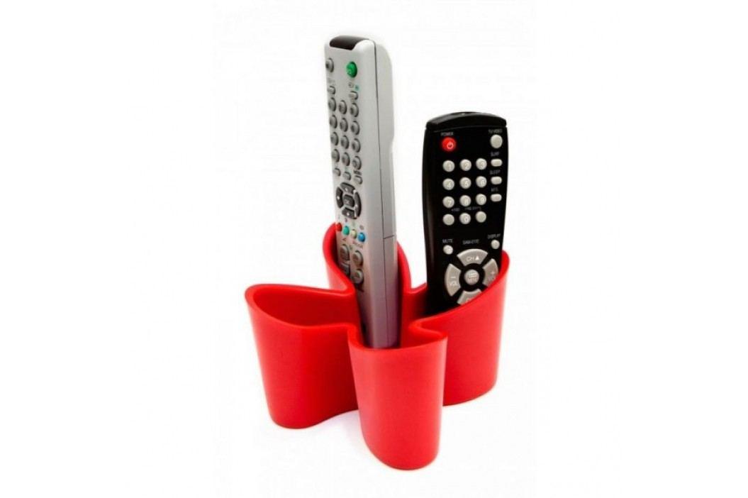 Stojánek na dálkové ovladače J-ME Cozy Remote Tidy, červený J-ME 1260068