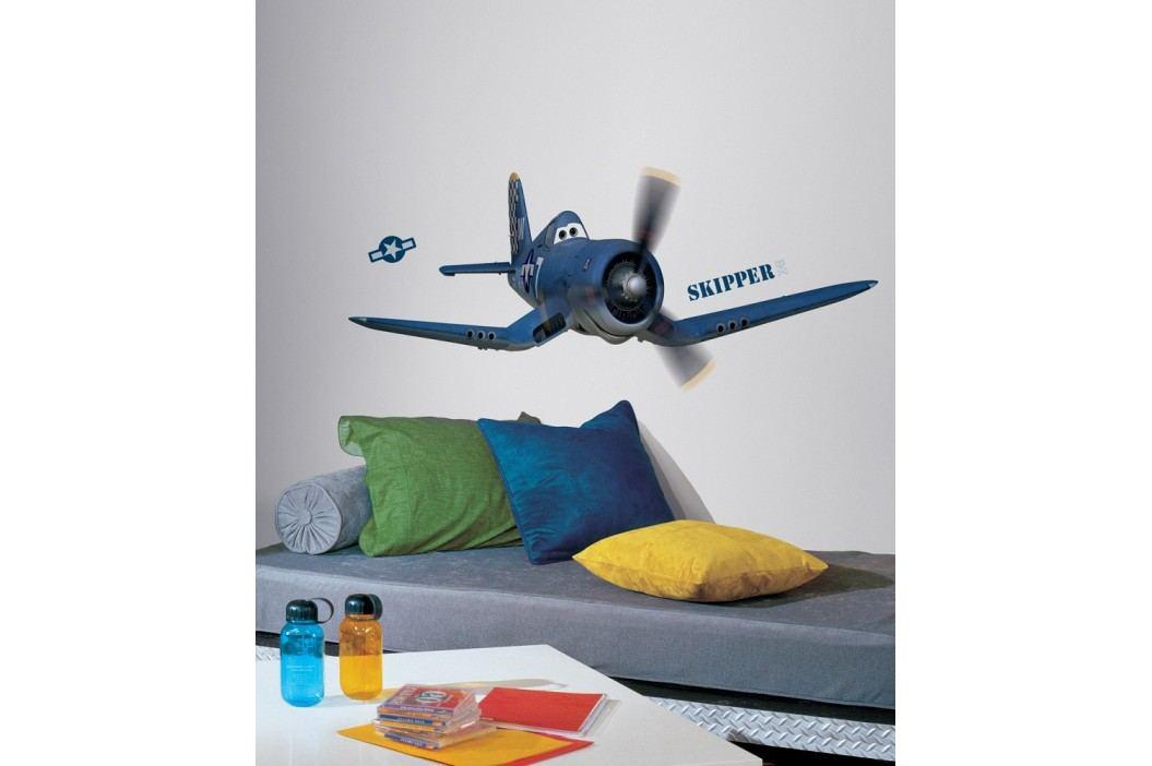 Obrázky Disney Planes. Samolepka Letadlo Skipper Riley