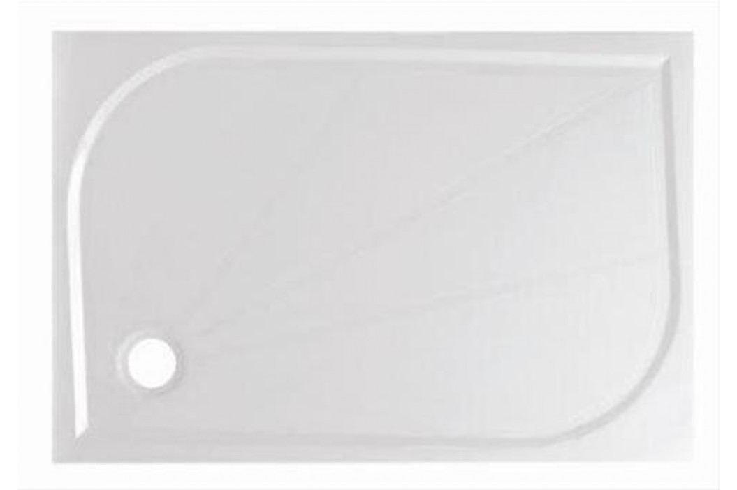 Sprchová vanička obdélníková Anima LIMNEW 120x80 cm, litý mramor LIMNEW12080