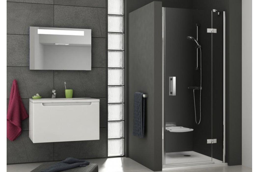 Sprchové dveře Ravak Smart Line jednokřídlé 110 cm, čiré sklo, chrom profil, levá 0SLDBA00Z1