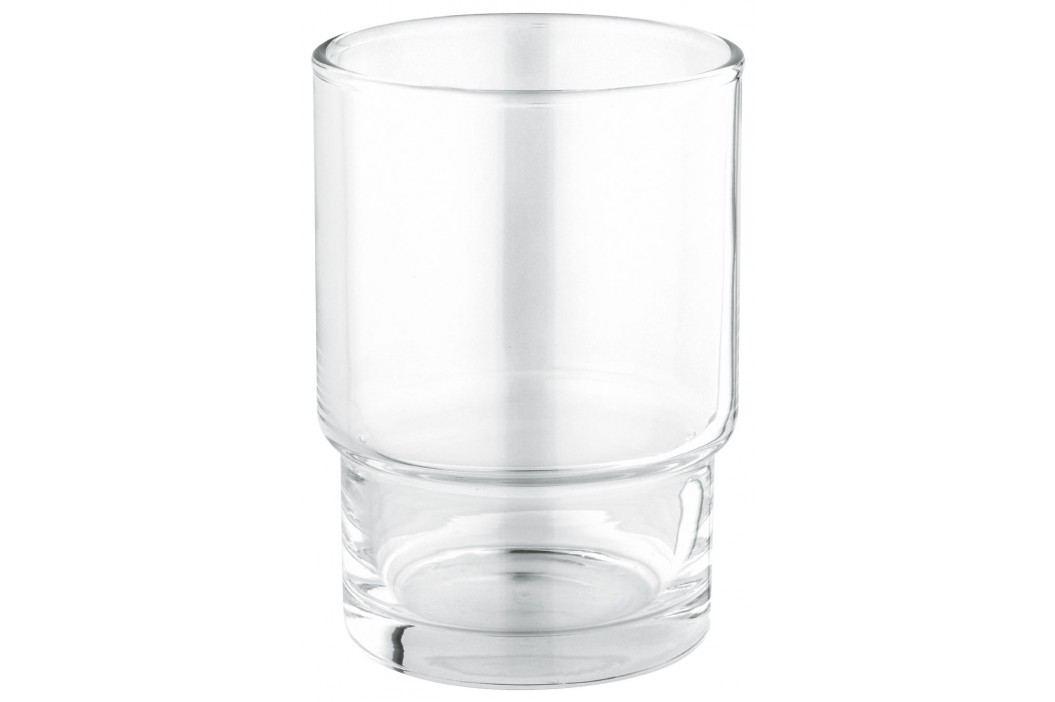 Grohe Sklenička Essentials Cube, chrom 40372001