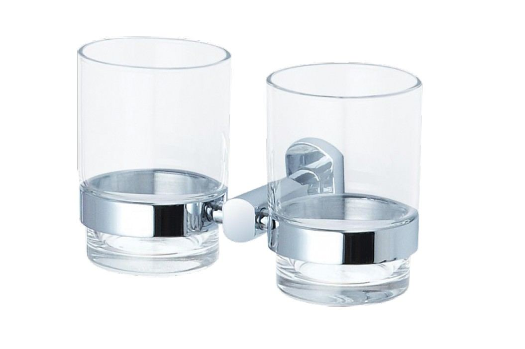 Optima Držák skleniček Cube Way, chrom SPI47