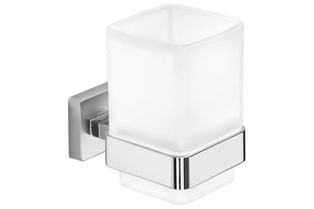 Inda Držák skleniček Cubo, chrom A29100CR21