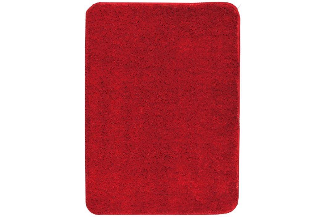 Koupelnová předložka mikrovlákno Optima 60x90 cm, červená PRED101