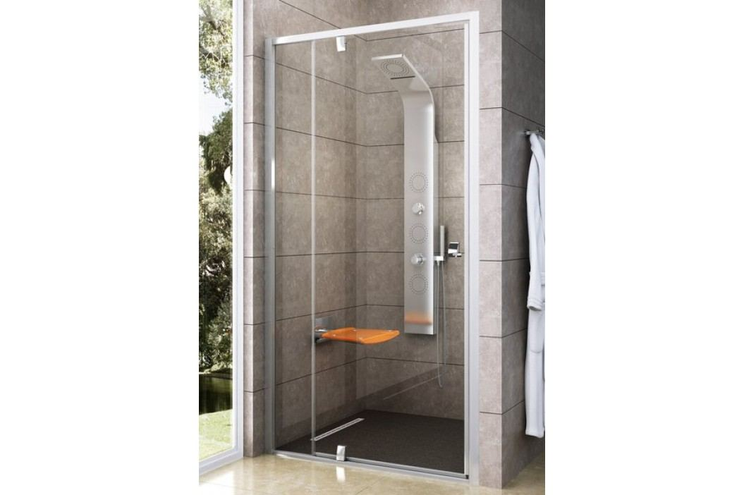 Sprchové dveře Ravak Serie 300 jednokřídlé 120 cm, čiré sklo, bílý profil 03GG0101Z1