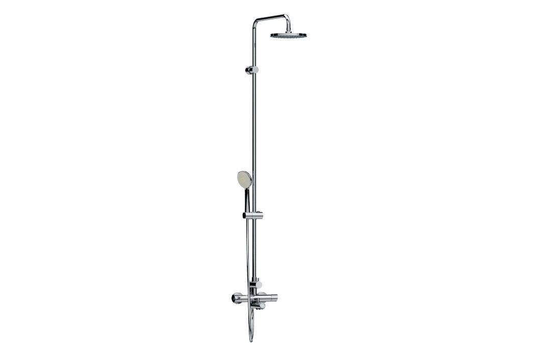 Sprchový systém Jika Mio, oblý design H3237170045711