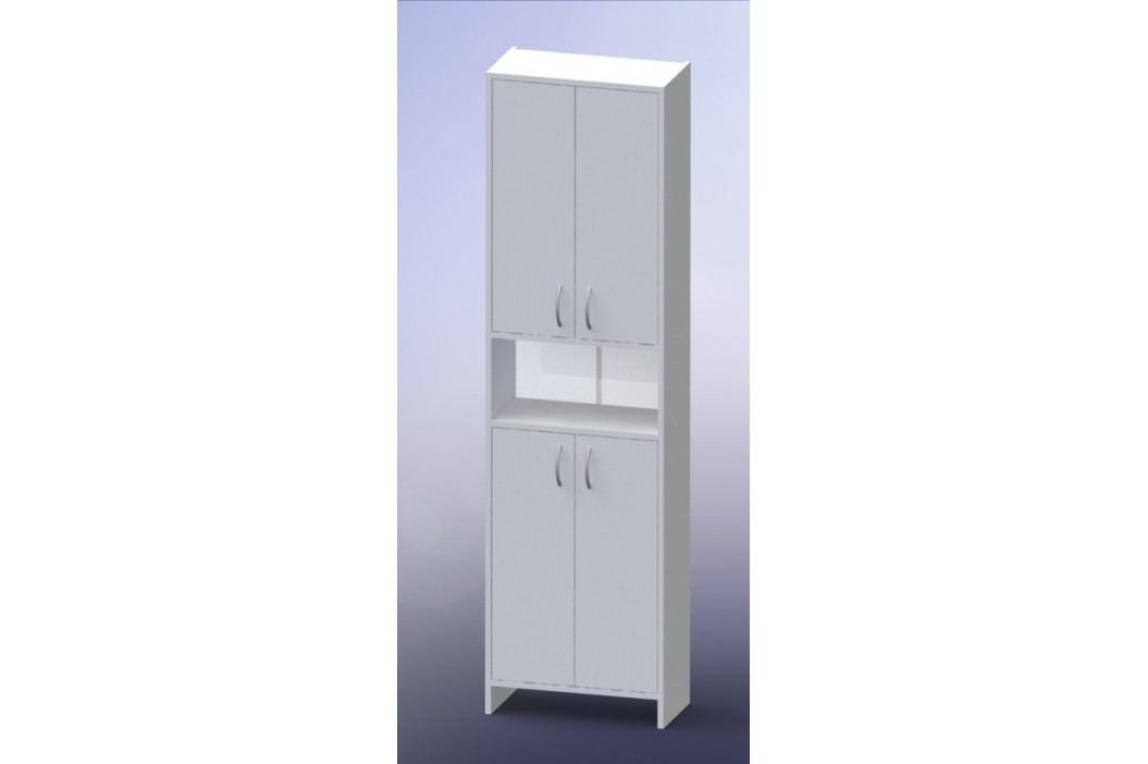 Vysoká skříňka Multi Praxis 50 cm, bílá INCA50