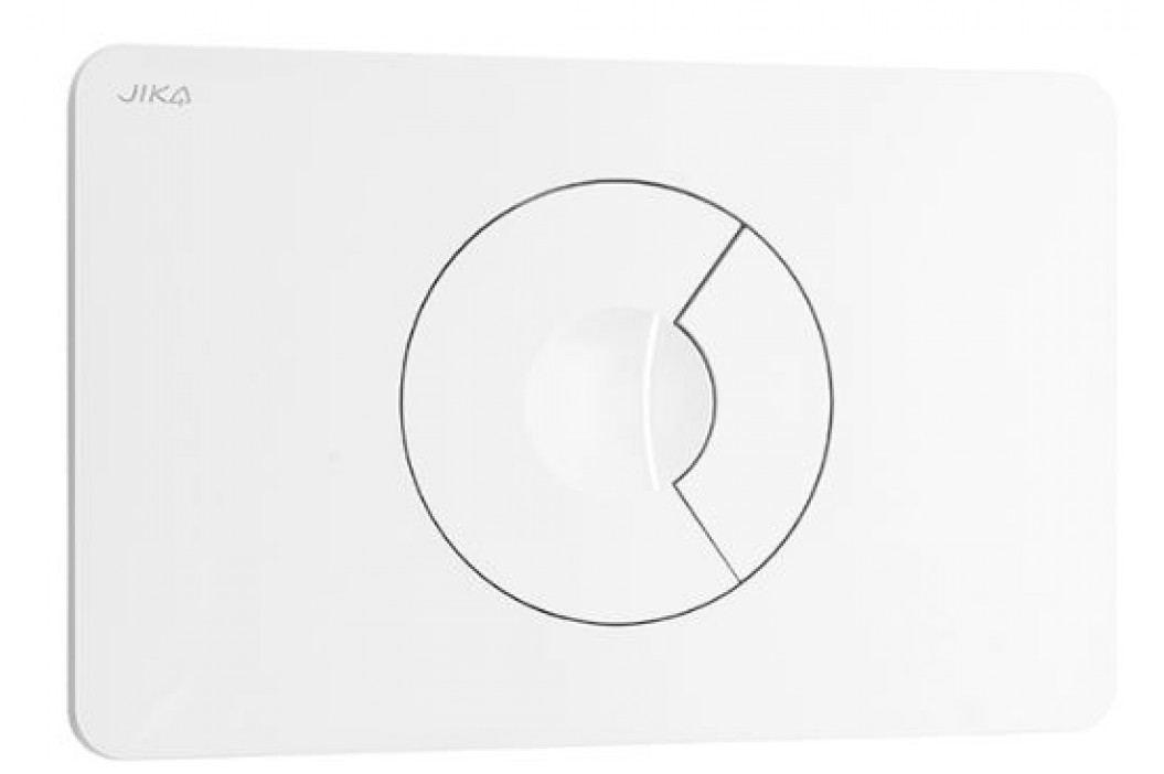 Dvojčinné ovládací tlačítko Jika plast, bílá H8936760070001