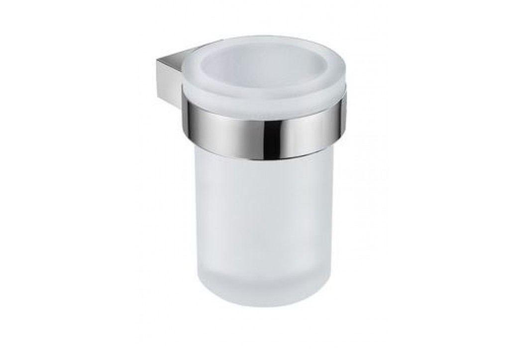 Jika Držák skleničky a kartáčků Pure, chrom H3823B10040001