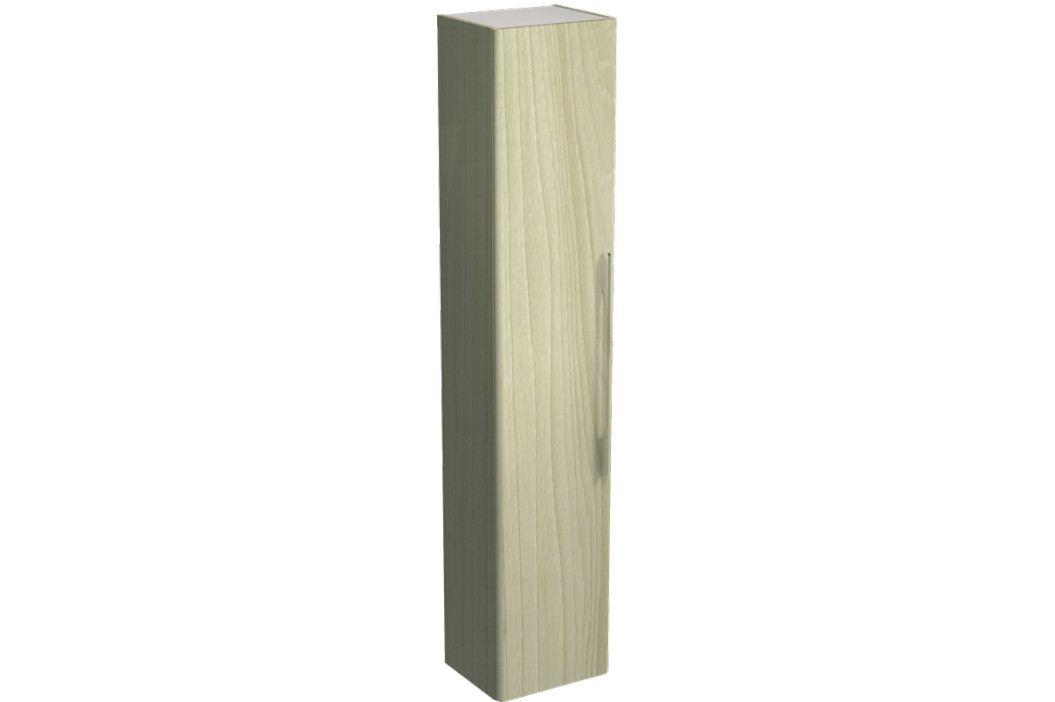 Vysoká skříňka Kolo Kolo 36 cm, jasan bělený, univerzální otevírání SIKONKOTVSJB